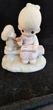 Precious Moments 'Loving is Sharing' porcelain figurine