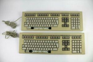 Vintage Digital DEC LK201 Terminal Keyboard (Lot of 2)