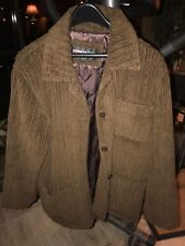 Kenneth Cole Reaction Mens Brown Winter Coat / Jacket (M)