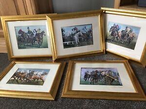 Trevor Taylor Framed Racing Prints X5