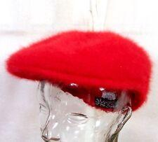 90d043ec255 euc Kangol men s Furgora 504 Bright Red Angora Blend Hat Cap UK Hip Hop Rap  sz