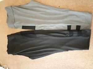 2 pairs of Ladies 3/4 leggings Size 22.24/26..brand new..never been worn