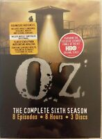 Oz - The Complete Sixth Season (DVD, 2006, 3-Disc Set) SEALED free shipping