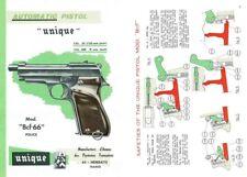 Unique Model BCF-66 Police c1986 Manufacture d'Armes des Pyrennes