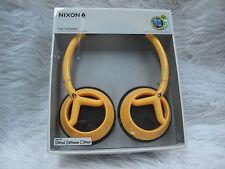 Nixon The Trooper Headband Headphones - Yellow