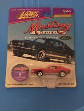Johnny Lightning - MUSTANG CLASSICS - 1967 Shelby Mustang GT 350 - 1/64
