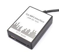 USB MP3 AUX Adapter BMW E39 Z4 E85 E83 X5 E53 Business CD Quadlock Interface