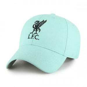 Official LIVERPOOL FC Turquoise Baseball CAP Hat Embroidered Liverbird LFC Gift