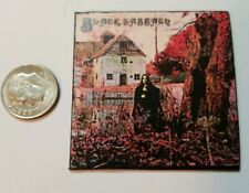 Miniature record album Barbie Gi Joe 1/6  Playscale Black Sabbath Ozzy