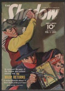 Shadow 1941 January 15.    Pulp