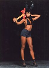 Naomi Campbell - Bunny Guitar - Tirage argentique d'époque 1990's -