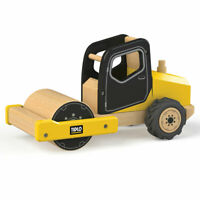 Tidlo Wooden Road Roller Construction Vehicles Roleplay Accessories