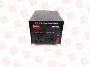 GRAINGER 16V986 / 16V986 (USED TESTED CLEANED)