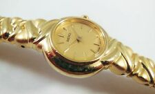 Seiko SXJZ34 Gold Tone Base Metal 1N00-5L08 Sample Watch NON-WORKING
