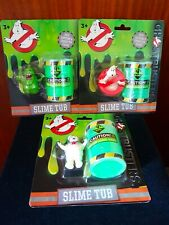GHOSTBUSTERS - Slime Tubs and Mini Figures - COMPLETE SET 2016 - RARE!