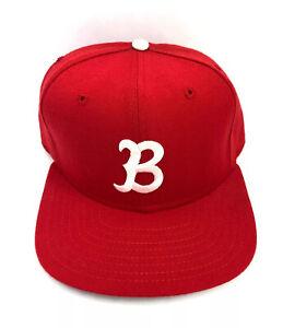 vintage new era pro model budde post fitted hat size 7 1/2 deadstock NWOT 80s ⚾️