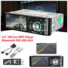 "4.1"" HD 1DIN In-Dash Stereo Head Unit Car MP5 MP3 Player Bluetooth FM Radio AUX"