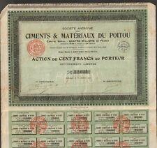 CIMENTS & MATERIAUX DU POITOU (AIRVAULT 79) (A)