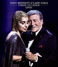 Tony Bennett  Lady Gaga: Cheek to Cheek Live (DVD, 2015)