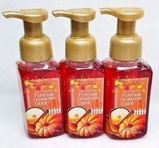 3 Bath Body Works PUMPKIN CRANBERRY CIDER Foaming Hand Soap FALL HARVEST AUTUMN
