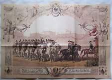 Berlino 1881 Gedenkblatt rientro principessa Auguste Viktoria V. Schleswig Holstein
