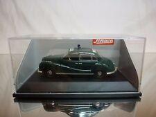 SCHUCO 81038 BMW 501 POLIZEI POLICE - GREEN 1:43 - GOOD CONDITION IN BOX