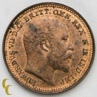1902 Great Britain 1/3 Farthing in BU KM# 791