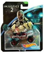 2018 Hot Wheels Injustice 2 #5 Cyborg Character Cars