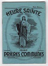 1938 SAINT ANNE DE BEAUPRE Catholic Church QUEBEC ANADA Heure Sainte PRIERES