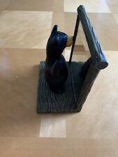 "Big Sky Carvers Bearfoots figurine ""Atlas"" limited edition 702/5132 Jeff Fleming"