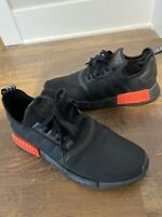Mens Adidas Originals NMD R1 'Ripstop' - Black Red Size 12