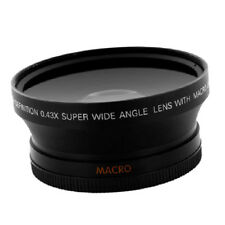 52mm 0.43X HD Super Wide Angle Lens with Macro for Canon EOS 70D 60D 7D 6D