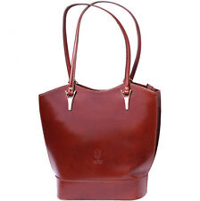 Backpack Purses Bag Italian Genuine Leather Hand made in Italy Florence 208 br