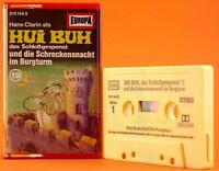 Hui Buh 19 und die Schreckensnacht im Burgturm Kassette MC alte Musik  gelb