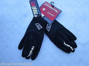 O'Neal Oneal element mens motocross gloves black sz 13  3XL  0399-113
