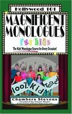 Magnificent Monologues for Kids Hollywood 101