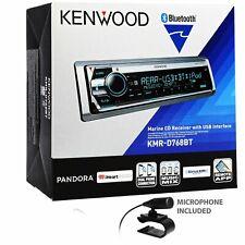 Kenwood KMR-D768BT Marine CD Receiver Bluetooth In-Dash CD/AM/FM Stereo Receiver