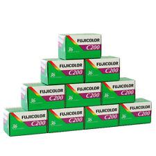 10x Fujicolor Film C 200 mit 36 Aufnahmen Kleinbild Farbfilm 01/2023