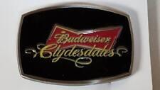 BUDWEISER CLYDES DALES WESTERN STYLE COLLECTIBLE DIE-CAST BELT BUCKLE SPEC-CAST