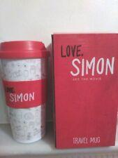 """Love, Simon"" Katherine Langford Film Travel Mug"