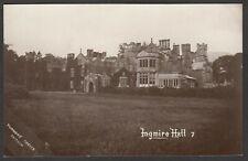 Postcard Ingmire Hall nr Sedbergh Cumbria early RP by Turner