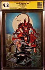 MARVEL Comics SPIDER-MAN #800 CGC SS 9.8 Clayton Crain Virgin VENOM RED GOBLIN