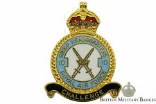 Queens Crown Royal Air Force 10 Group Headquarters Squadron Unit RAF Lapel Badge