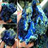 Rare Azurite Malachite Geode Crystal Mineral Specimen Reiki Healing Raw Gemstone