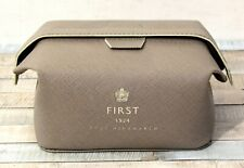 Anya Hindmarch First 1924 British Airways Fold Top Make Up Toiletry Bag Gray