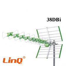 Antenna Linq Li-W38b  Tv Uhf Dvb-T Digitale Esterno 38 Dbi Hd 24 Elementi