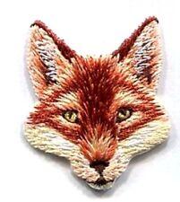 IRON ON PATCH FOX HEAD