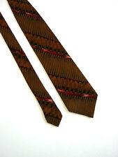 EMANUEL UNGARO PARIS Cravatta Tie Originale 100% SETA SILK