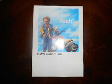 BMW OEM Junior Bike Brochure 03/96