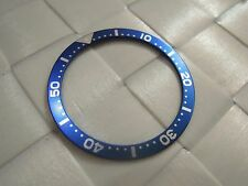 NEW BLUE BEZEL INSERT 38MM FOR SEIKO DIVER'S 7S26,7002,6309,6306, MEN'S WATCH